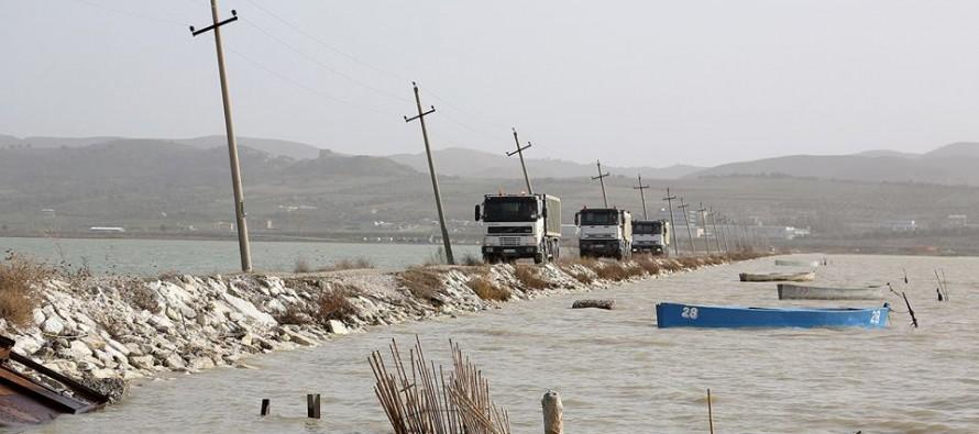 Floods wreak havoc