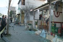 Overnight explosions aimed to intimidate interior minister, police, cause panic, investigators believe