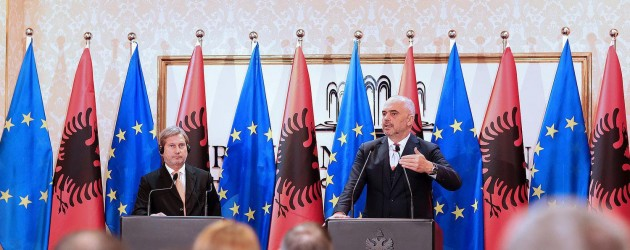 Tirana seeks to open EU accession talks later this year
