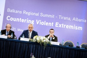Prime Minister Rama made the comments at a security conference in Tirana.