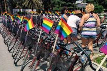 LGBT activists seek more rights at annual bicycle rally