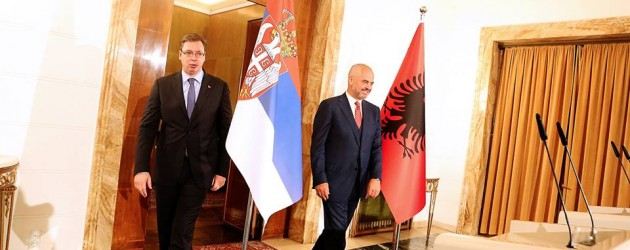 With regional stability and EU in mind, Albania and Serbia vow to fix relations