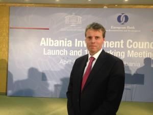 Holger Muent, EBRD's Director for Western Balkans. (Photo: EBRD)