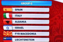 Albania to face World Cup winners Italy, Spain in 2018 qualifiers