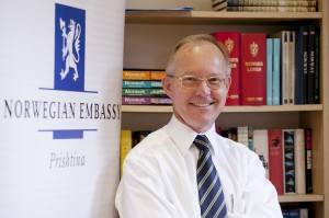 Ambassador Jan Braathu is based in Prishtina, from where he also covers Albania. (Photo: Embassy of Norway)