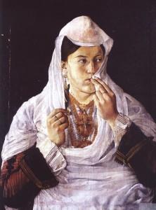 Idromeno's landmark Motra Tone (Sister Tone) painting