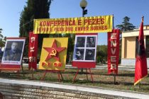 Hoxha's photos make comeback at Peza festivities, lead to angry reactions