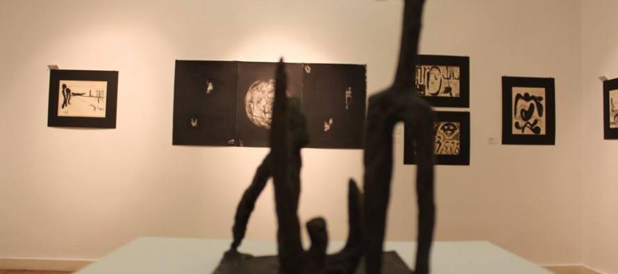 Maks Velo opens retrospective exhibition