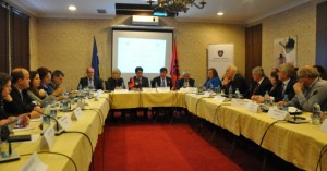 The group met in Prishtina. (Photo: MoE)