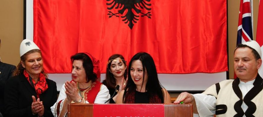 November proclaimed as Albanian heritage month in Canada