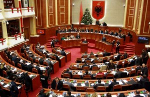 A session of the Albanian parliament, locally known as Kuvendi. (Photo: Archives)