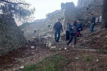 Berat castle ancient wall collapses sparking protection concerns