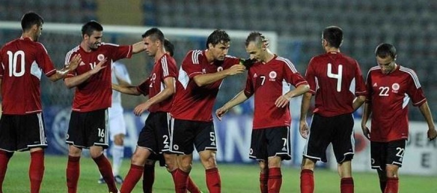 Albania drawn against Scotland, Israel in inaugural UEFA Nations League