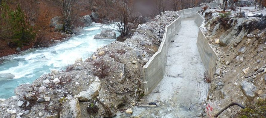HPP construction in Valbona met with protests from Tirana to New York