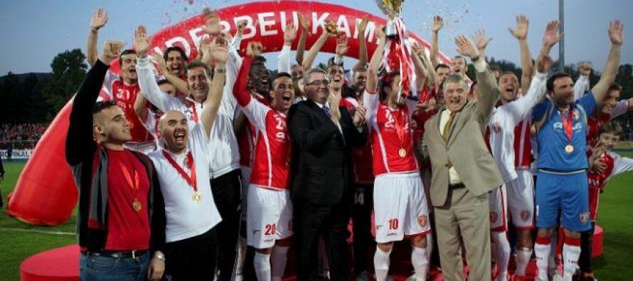 Skenderbeu claim sixth straight Superliga title