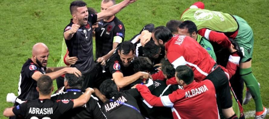 Albania end historic Euro debut, heroes' welcome underway