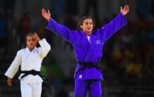 Judoka Majlinda Kelmendi won Kosovo's first ever gold medal at the Rio Olympics