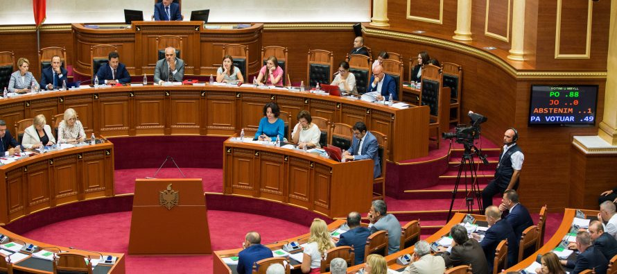 Unilateral approval of vetting law brings back political deadlock