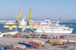 Durres Port, the country's largest