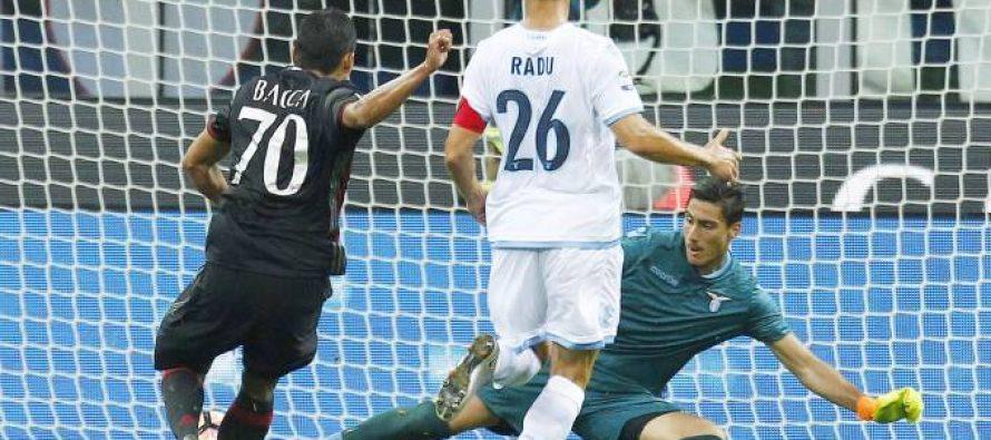 Albanian goalkeeper makes Lazio debut