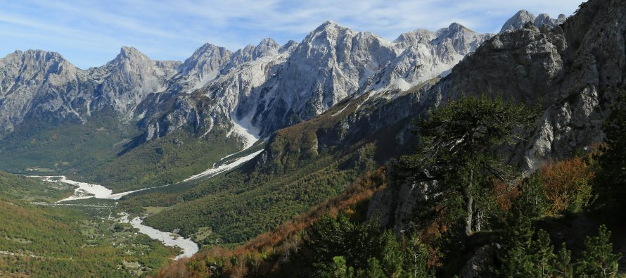 Valbona Valley residents, activists protest dam construction
