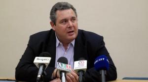 Greece's Defense Minister Panos Kammenos
