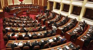 Albania's parliament (Photo: PoA Handout)