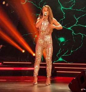 Favorite singer Linda Halimi