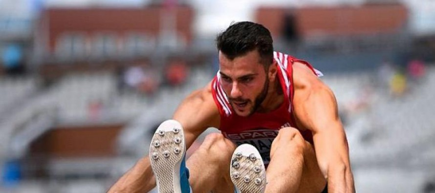 Albanian jumper crowned Balkan champion