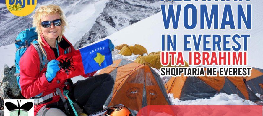 Uta Ibrahimi undertakes challenge of becoming first Albanian woman to climb Everest
