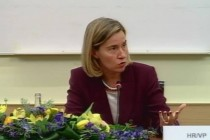 Signs of compromise to overcome political deadlock emerge as Mogherini visits Albania