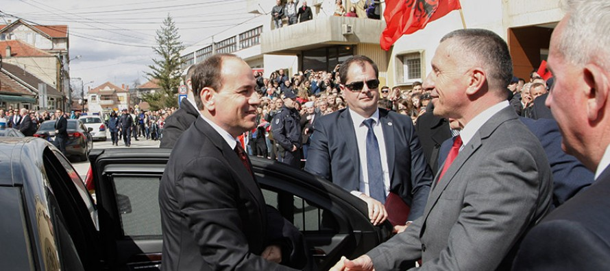 President Nishani makes historic visit to Presevo Valley