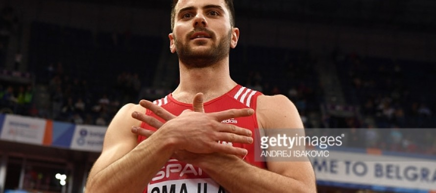 Izmir Smajlaj claims Albania's first ever European indoor gold medal