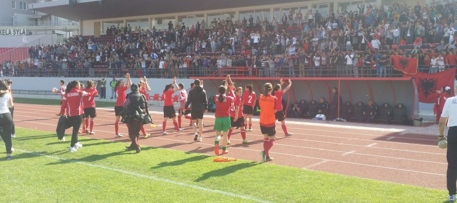 Albanian women claim historic World Cup qualification