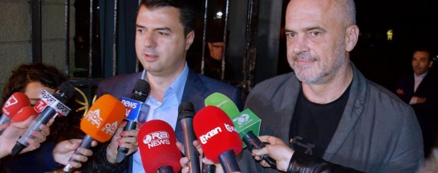 Basha-Rama deal ends Albania's political crisis ahead of the elections