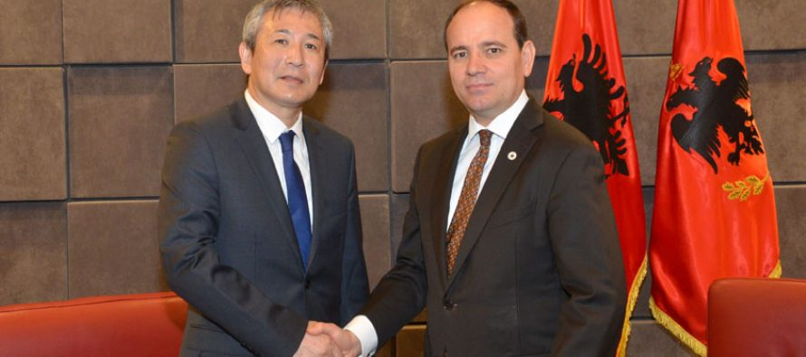 Japan's first resident ambassador to Albania officially assumes functions