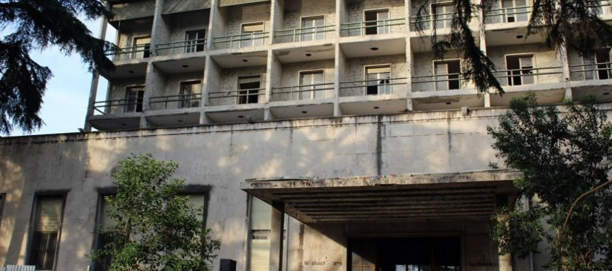 Abandoned Dajti hotel ready to turn into central bank facility
