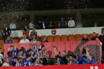 No celebration as newly relegated Tirana claim Albania Cup