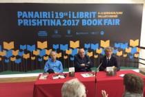 Besnik Mustafaj claims 'Author of year' award at Kosovo book fair