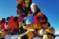 First Albanian woman climbs Everest