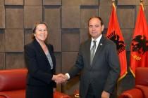 Christina Vasak takes over as new French ambassador to Albania