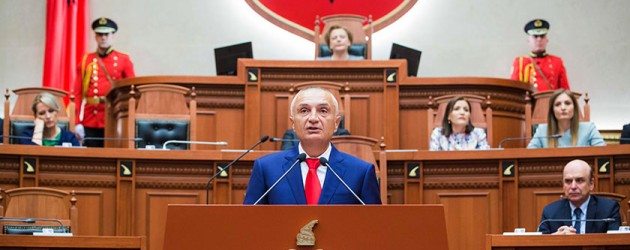 Ilir Meta sworn in as Albania's new president