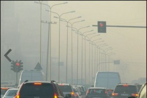 Air in Tirana is affected by high traffic among other things. (Photo: Archives)