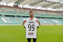 Sadiku leaves Switzerland to move to Legia Warsaw