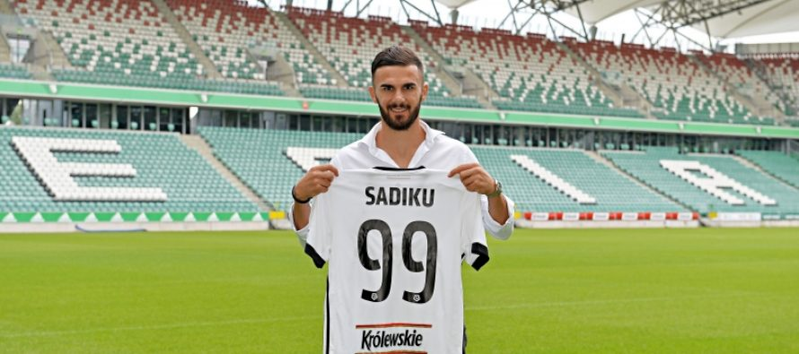 Sadiku leaves Switzerland to move to Legia Warsaw