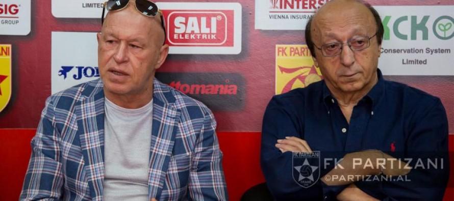 Italian Moggi targets turning Albania's Partizani into 'little Juventus'
