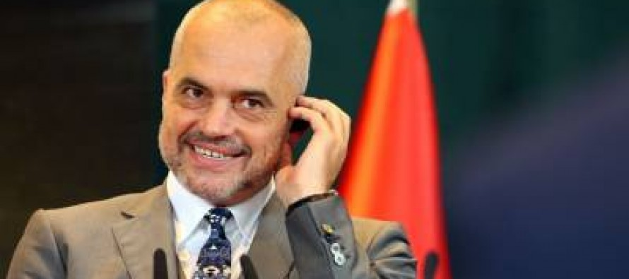 PM Edi Rama is now also Albania's foreign minister