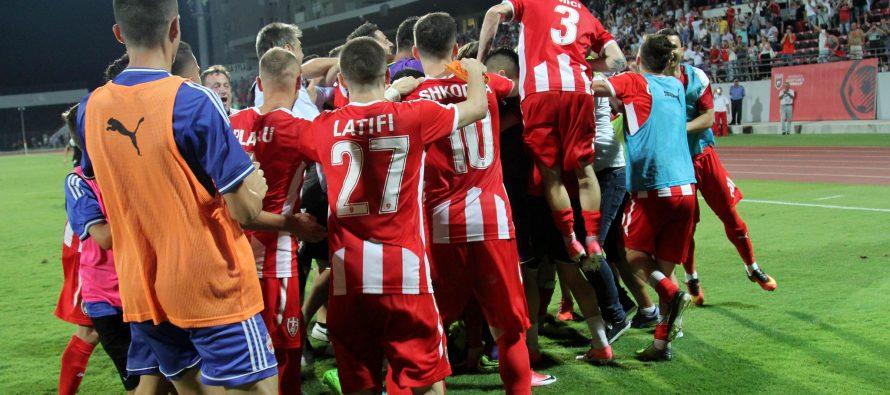 Albania's Skenderbeu progress to Europa League play-offs