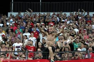 Skenderbeu supporters