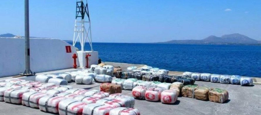 5 tons of cannabis seized by Italian, Albanian police